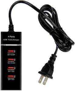 4 Port USB Fast Charger