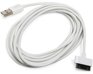 9 feet iPod, iPhone or iPad cable