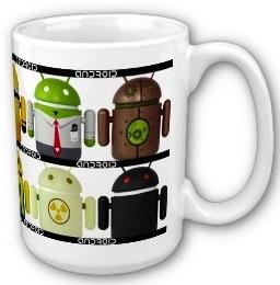 Andoirds are not all alike coffee mug