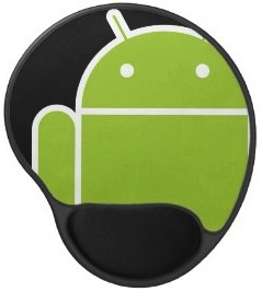 Android gel mousepad