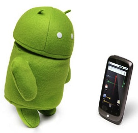 The Android RObot as a plush doll.