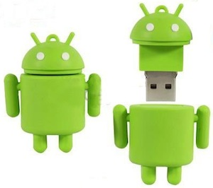 An Android flash drive that is what the android fan boys want