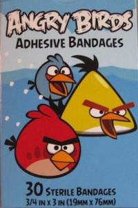 Angry Birds Adhesive Bandage