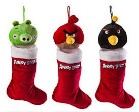 Angry Birds Christmas Stocking