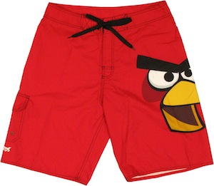 Angry Birds Red Bird Shorts
