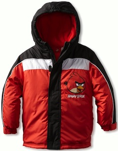 Angry Birds Boys Winter Jacket