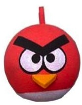 Angry birds antenna topper of Red bird