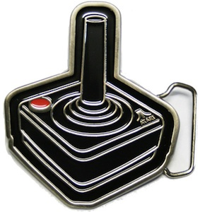Atari Joystick Belt Buckle