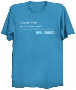 Automatic Repair T-Shirt
