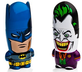 Batman and the Joker Mimobot thumb drives