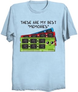 These Are My Best Memories T-Shirt