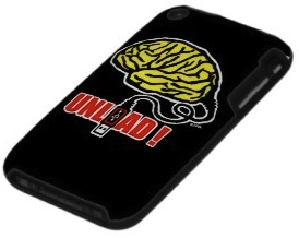 Brain to unload case for iPhone made by Speck