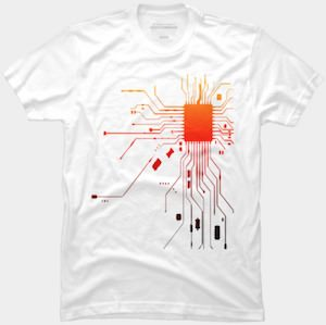Technology T-Shirt With An IC And More