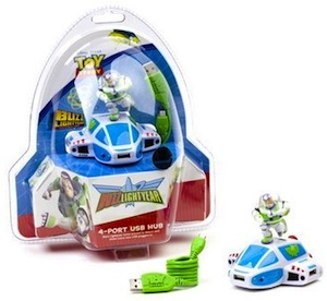 Toy Story USB HUB based on Buzz Lightyear