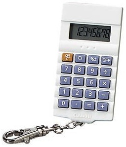 A real nerd has a calculator always and that is why this keychain will be perfect.