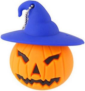 Halloween Pumpkin 64GB USB 3.0 Flash Drive