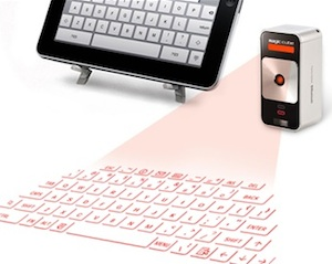Celluon Magic Cube laser keyboard and mouse