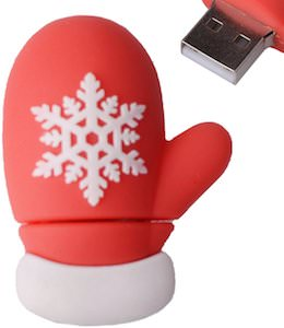 Christmas Glove USB Flash Drive