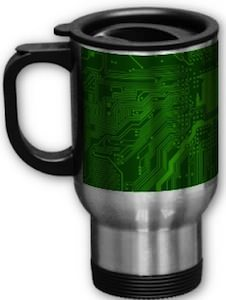 Circuit Board Tavel Mug