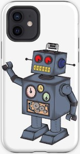 Classic Robot iPhone Case