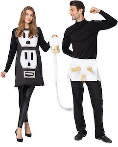 Couples Power And USB Costume