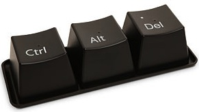ctrl alt delete cup set great for a windows user