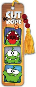 Cut The Rope Om Nom Bookmark