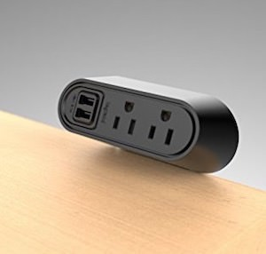 Desk USB And Power Bar
