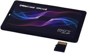 DiMeCard 8 x MicroSD Card Storage