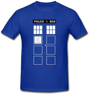 Doctor Who Tardis Costume T-Shirt