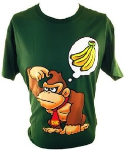 Donkey Kong Bananas On My Mind T-Shirt