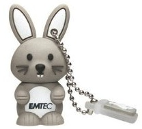 Bunny lovers will love this 4GB USB Flash drive.