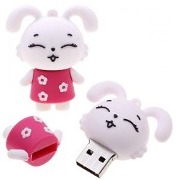 Funny Bunny USB Flash Drive