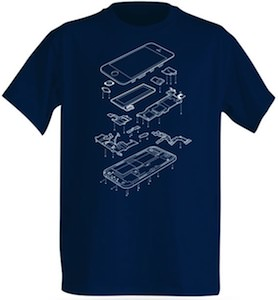 iPhone In Part T-Shirt