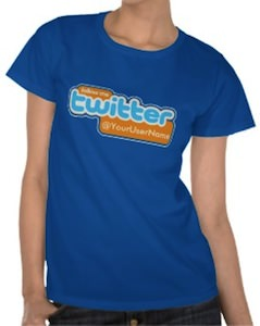 Follow Me On Twitter T-Shirt