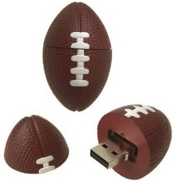 Football USB Flash Drive SUPERbowl here we come