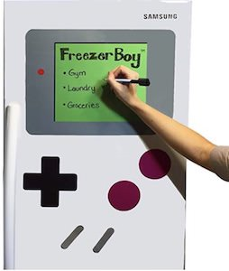 Game Boy Style Fridge Whiteboard