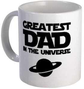 Greatest Dad in the universe mug