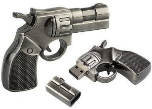 Gun 32 gb usb flash drive