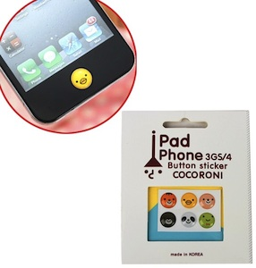 iPhone home button stickers