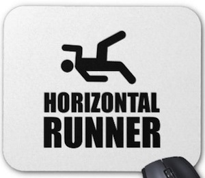 Horizontal Runner MousePad