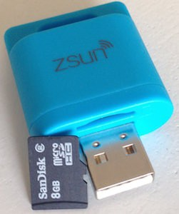 ZSUN Wireless flash drive
