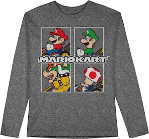 Kids Mario Kart Sweater