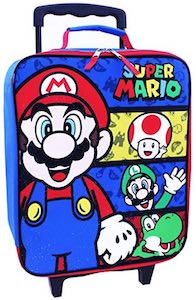 Kids Super Mario Suitcase