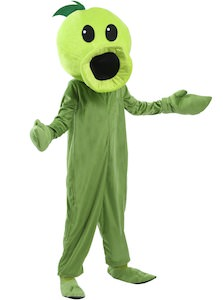 Kids Plants vs. Zombies Peashooter Costume