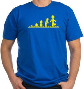 LEGO Figure Evolution T-Shirt