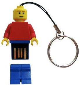 2GB Lego minifig USB flashdrive