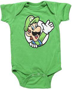 Nintendo Luigi Baby Bodysuit