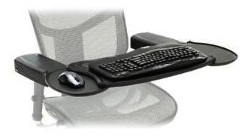 Mobo chair workdesk for mouse, keyboard or laptop