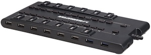 28 Port USB 3.0 And 2.0 HUB